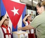 """""""Este voto tiene un gran significado, porque se trata de la Constitución de nuestra República Socialista"""", Dianelys Pérez"""