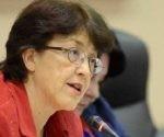 Gloria La Riva, integrante del Comité Internacional de Solidaridad con Venezuela