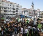 Protestantes piden piden al gobierno que cumplan con lo que se han comprometido y combatan con fuerza el cambio climático.