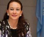 María Fernanda Espinosa Garcés, presidenta de la 73ª. Asamblea General de las Naciones Unidas en Cuba